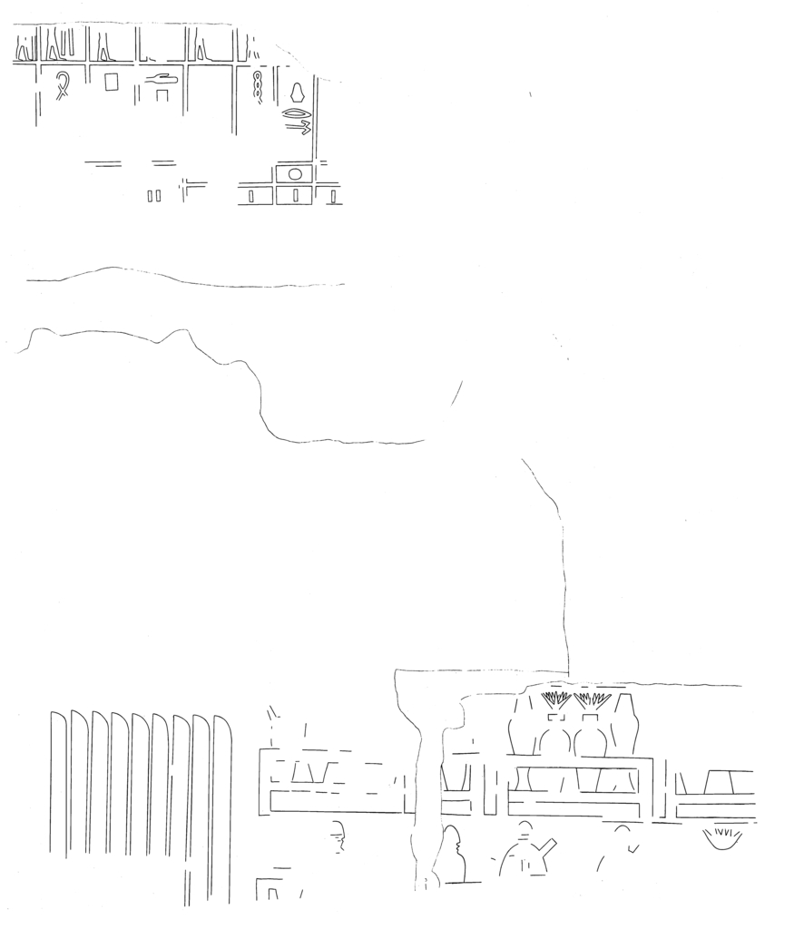 Drawings: G 2370: Room A, N wall, center