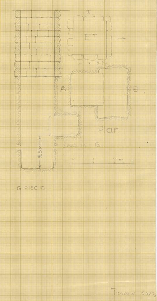 Maps and plans: G 2150, Shaft B