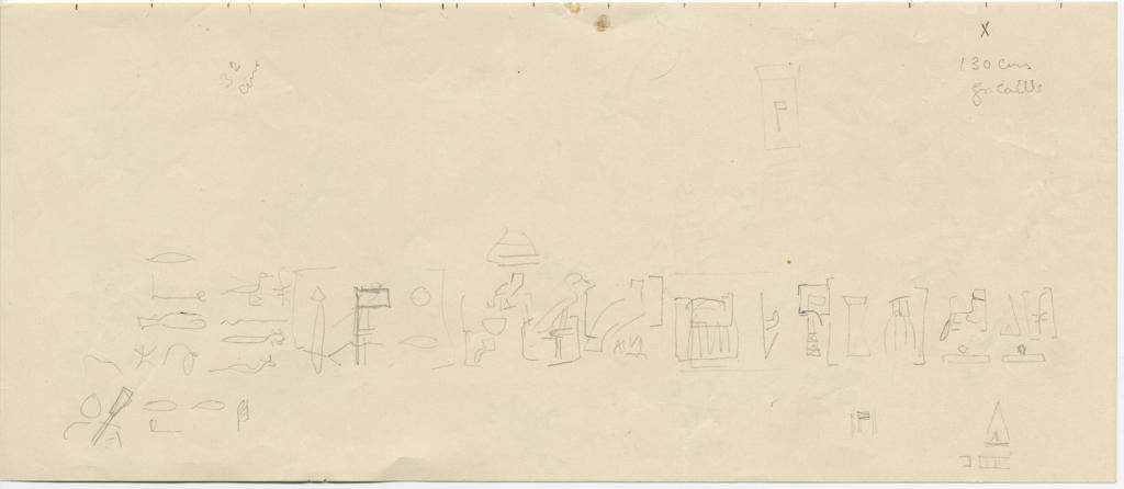 Drawings: G 5110: inscription