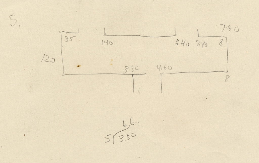 Maps and plans: G 5110, Sketch plan