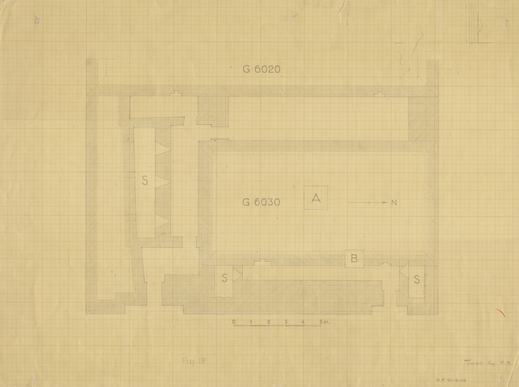 Maps and plans: G 6020 and G 6030, Plan