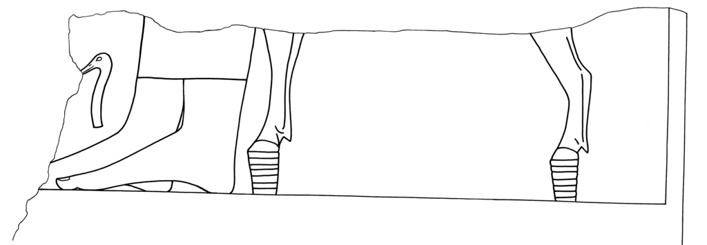 Drawings: G 2130: relief from entrance, S jamb