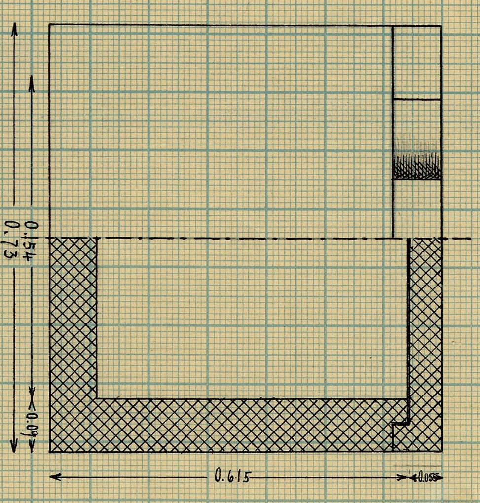 Drawings: G 7560, Shaft B: coffin