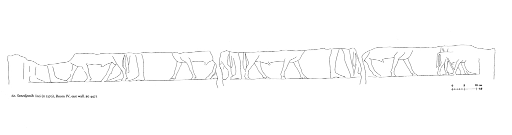 Drawings: G 2370: relief from Room IV, E wall