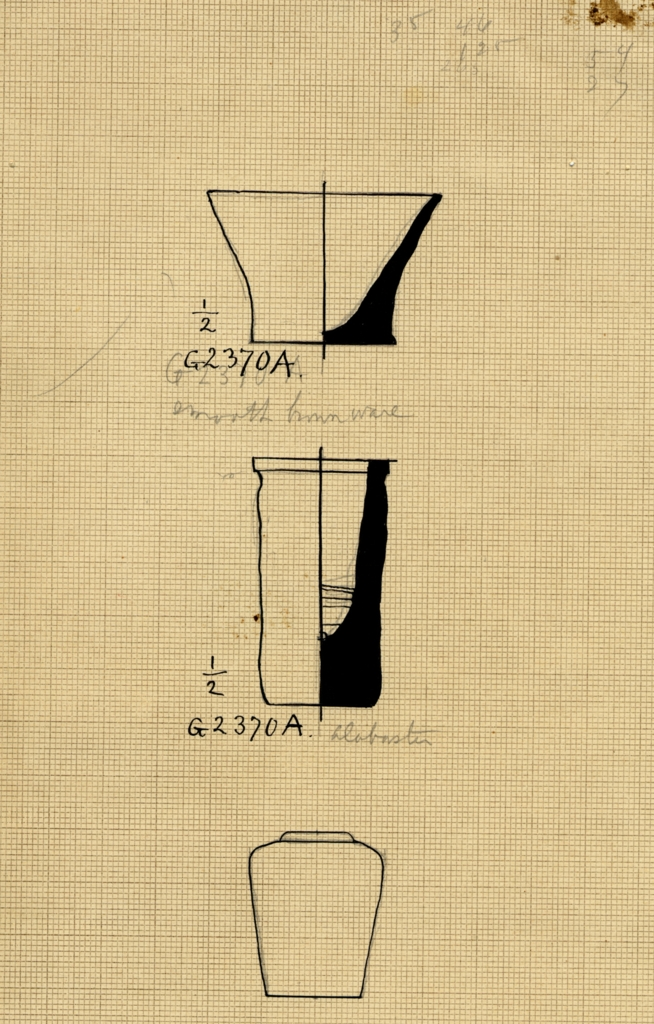 Drawings: G 2370: objects