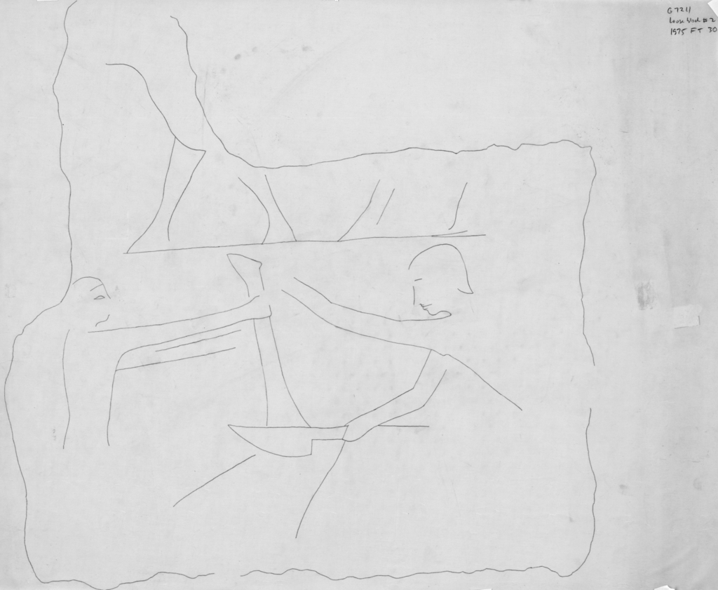 Drawings: G 7211: relief from loose block