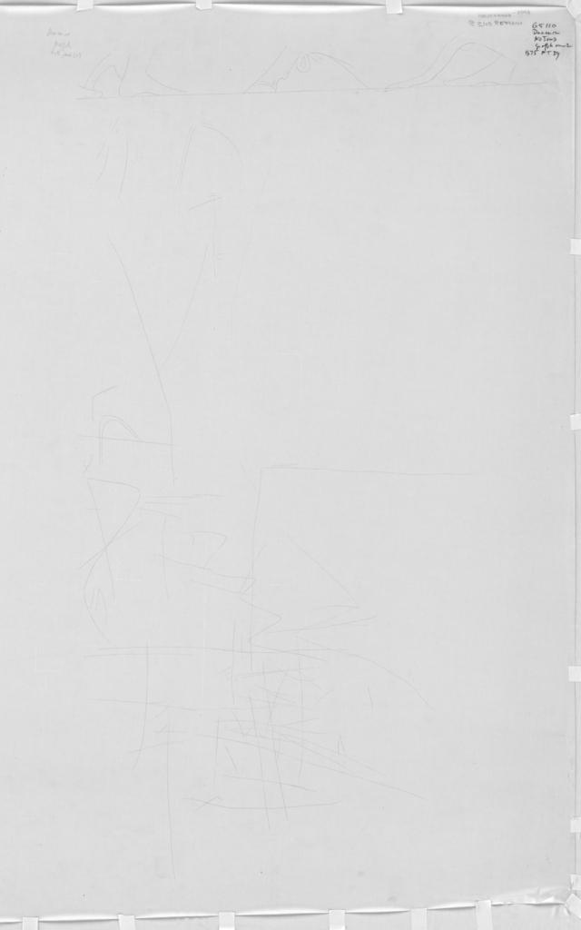 Drawings: G 5110: graffiti from N jamb