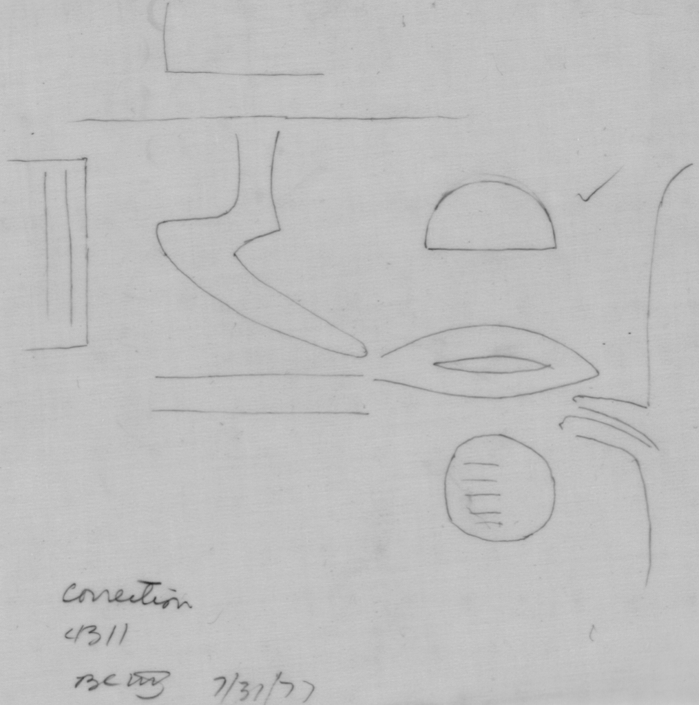 Drawings: G 4311: relief