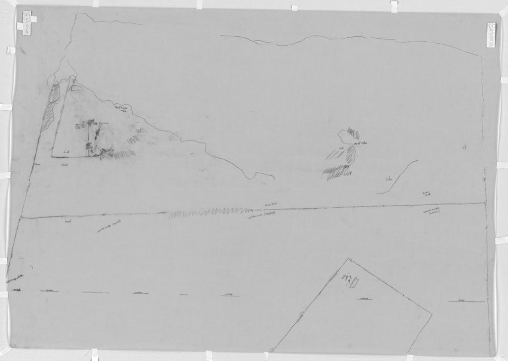 Drawings: G 7650: chapel, S wall, entrance corridor