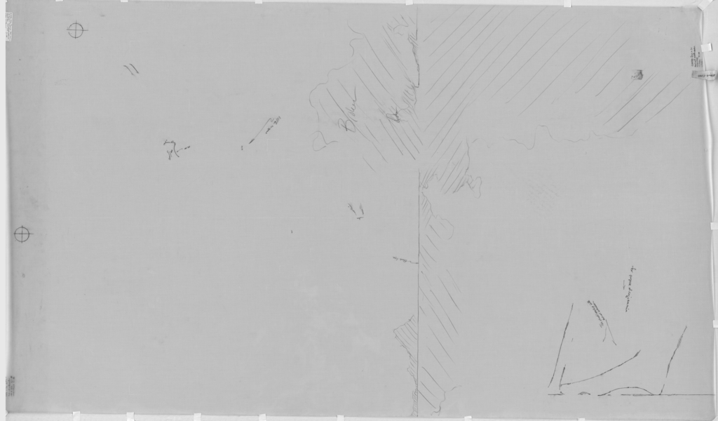 Drawings: G 7550: relief from E wall, middle section
