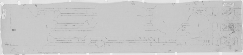 Drawings: G 7760: relief from S chapel, false door, left jamb
