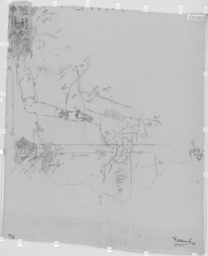 Drawings: G 7760: relief from entrance corridor, N wall