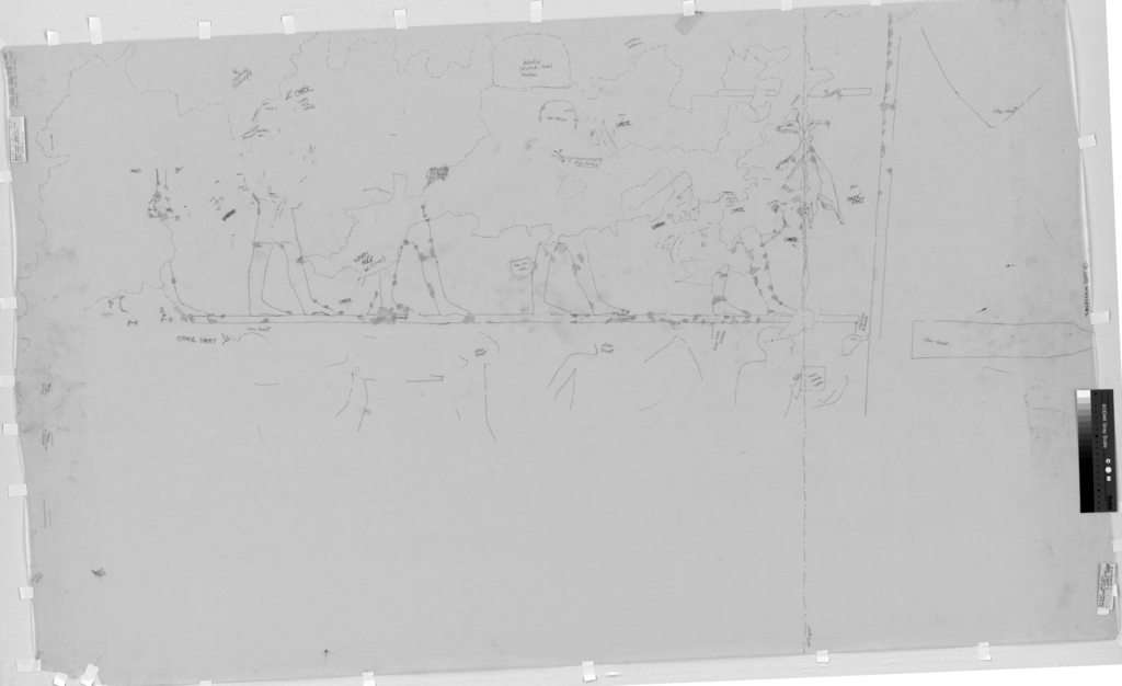 Drawings: G 7760: relief from W wall, N of false door, top register, left side
