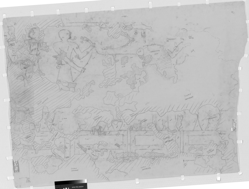 Drawings: G 7760: relief from E wall