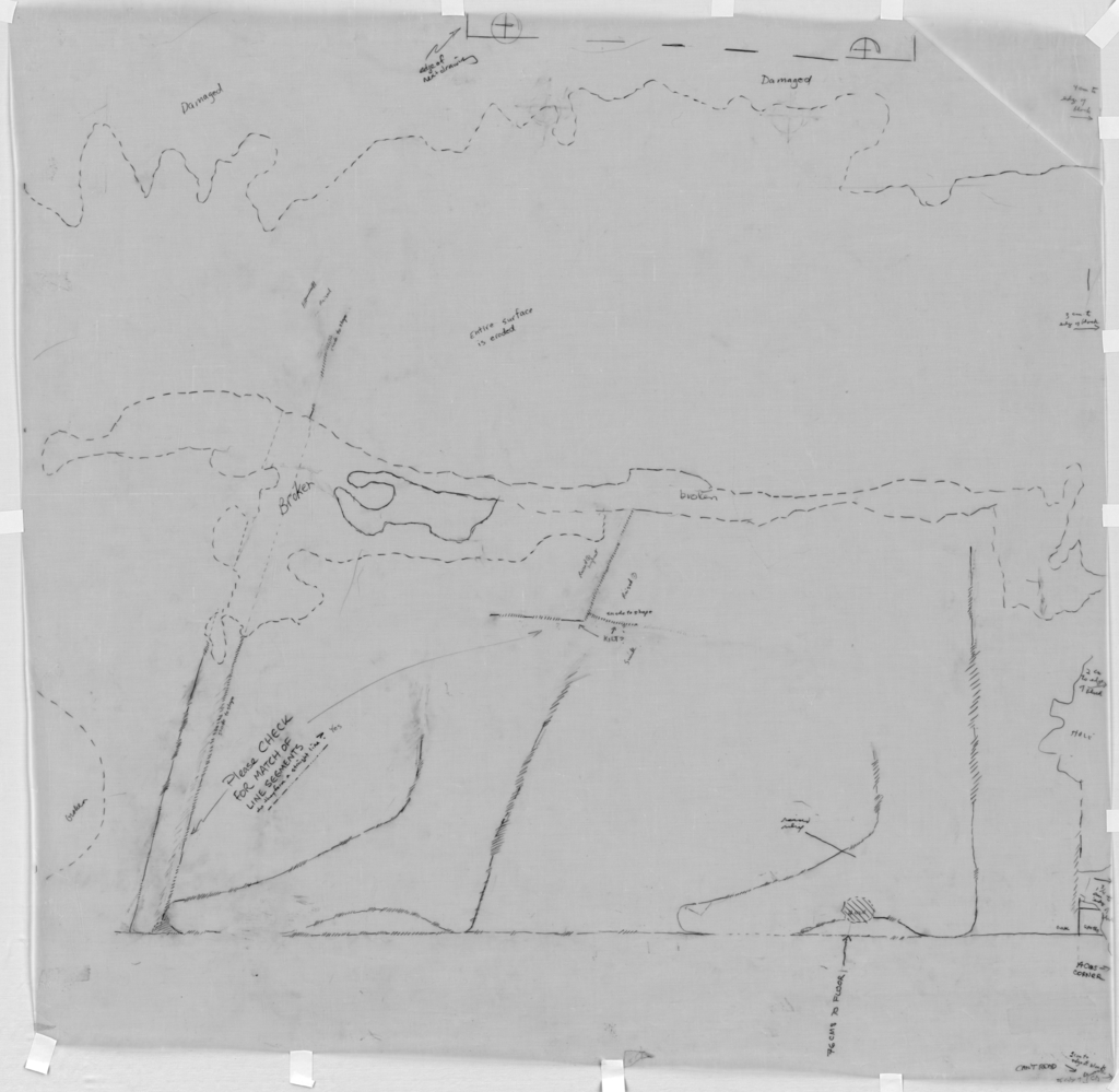 Drawings: G 7550: relief