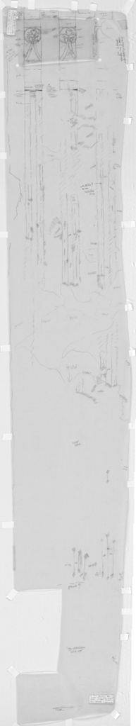 Drawings: G 7760: relief from W wall, false door, right jamb of