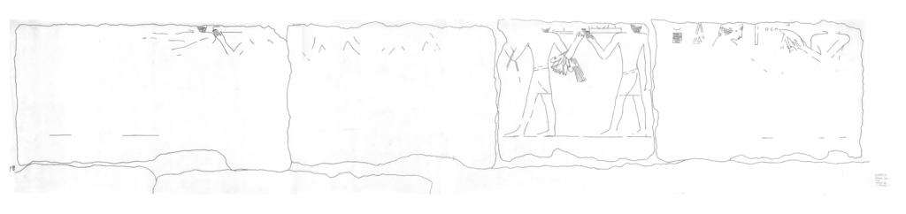 Drawings: G 2375: relief from N wall