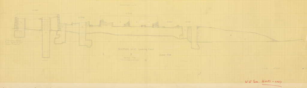 Maps and plans: Section of G 2337, G 5510, G 5520, G 5551, G 5561