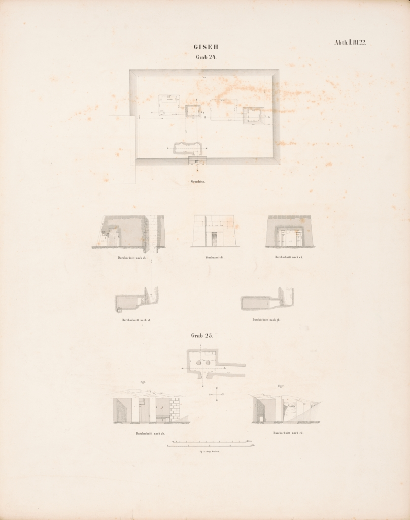 Maps and plans: Plans and sections of G 2100-I and G 2430