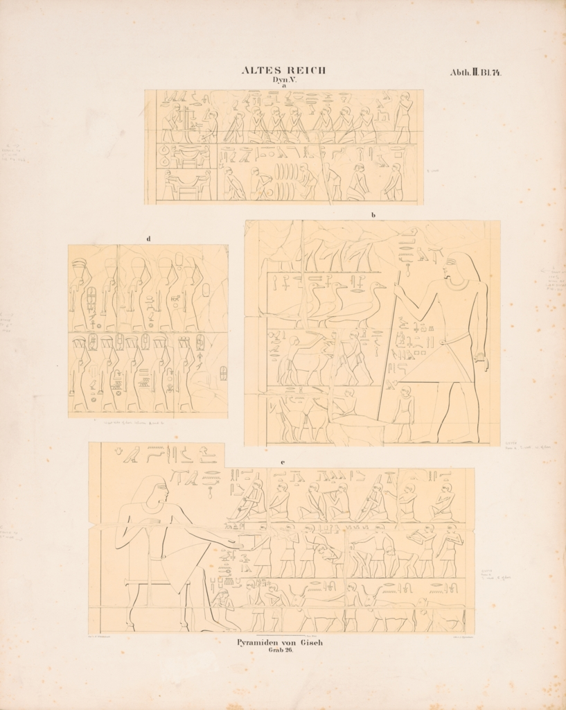 Drawings: G 2378: reliefs