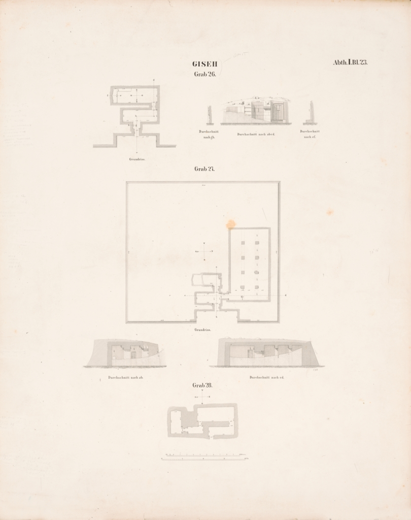 Maps and plans: Plans and sections of G 2370, G 2378, G 5520
