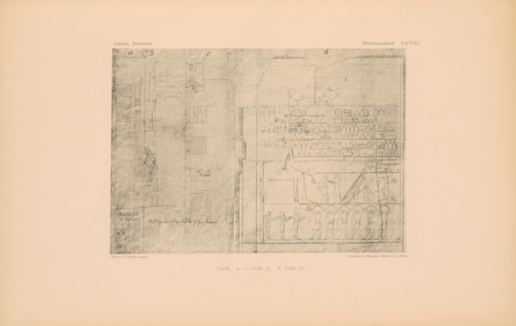 Drawings: Relief from G 5340 and G 7948