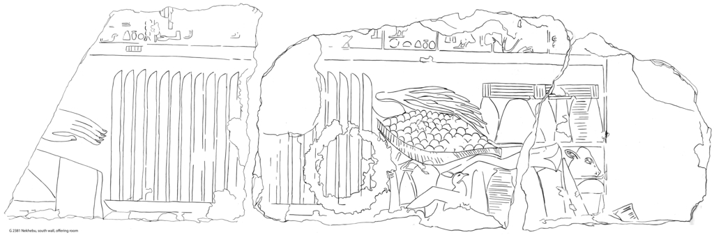 Drawings: G 2461': relief