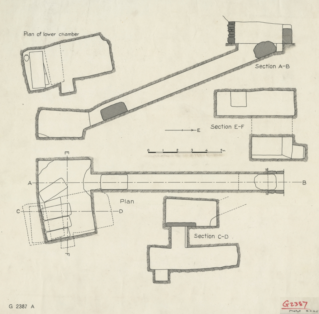 Maps and plans: G 2387, Plan and sections
