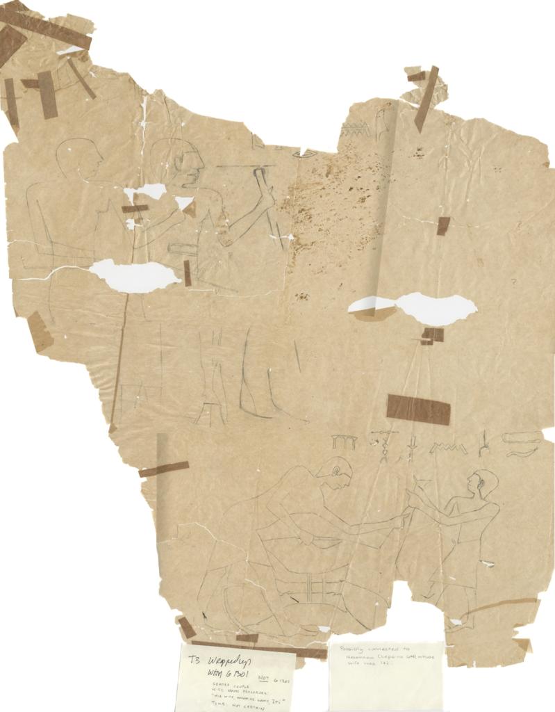 Drawings: Lepsius 64 (?): relief
