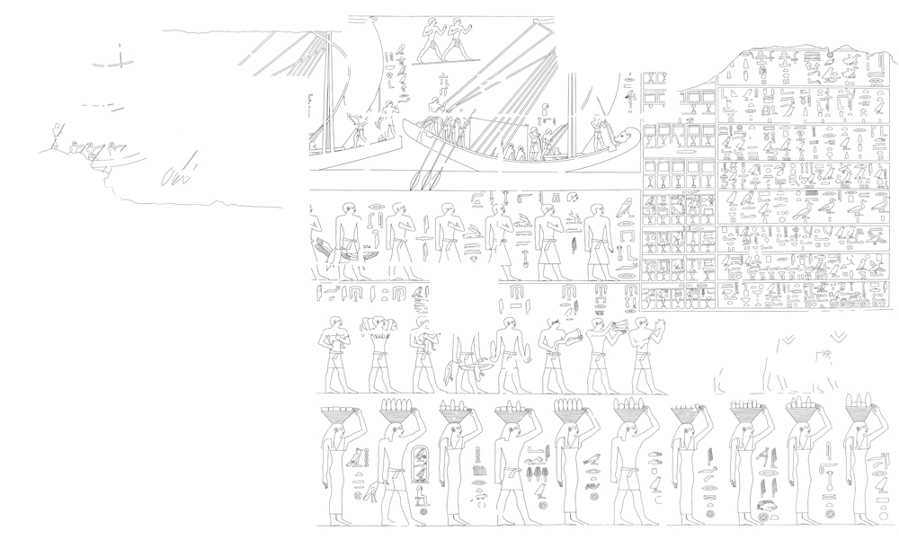 Drawings: G 4940: relief from E wall