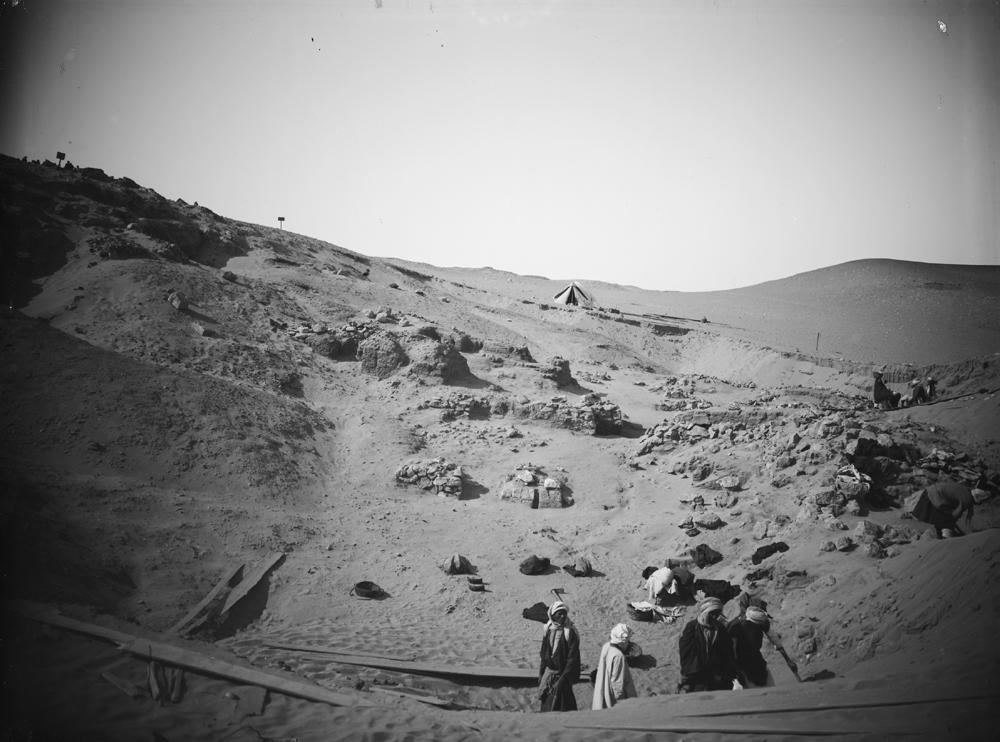 Wadi Cemetery (Reisner; north of W. Cem): Site: Giza; View: GW 6, GW 7