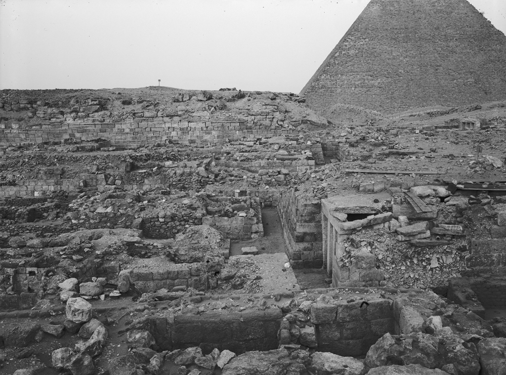 Western Cemetery: Site: Giza; View: G 1151, G 1101, G 1201