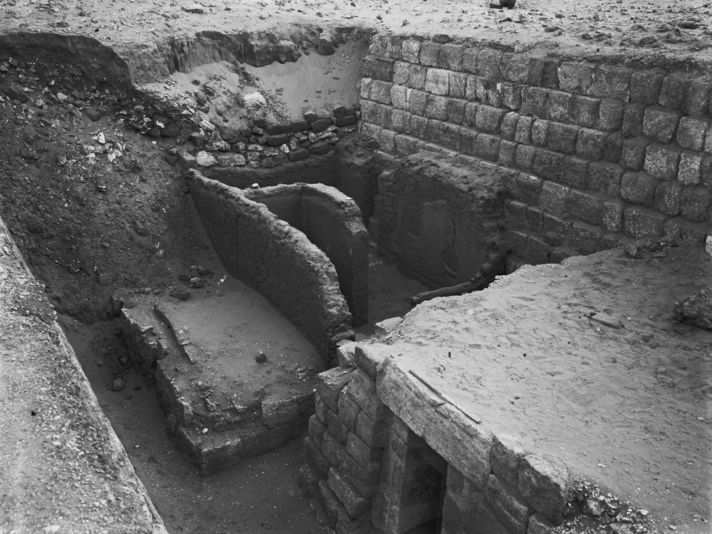 Western Cemetery: Site: Giza; View: G 1207, G 1210,  G 1206