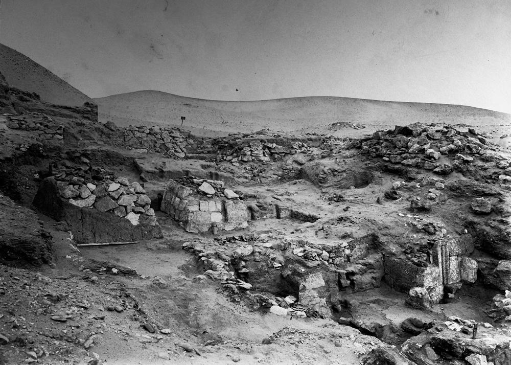 Wadi Cemetery (Reisner; north of W. Cem): Site: Giza; View: GW 1, GW 3, GW 4, GW 5, GW 6, GW 7, GW 8