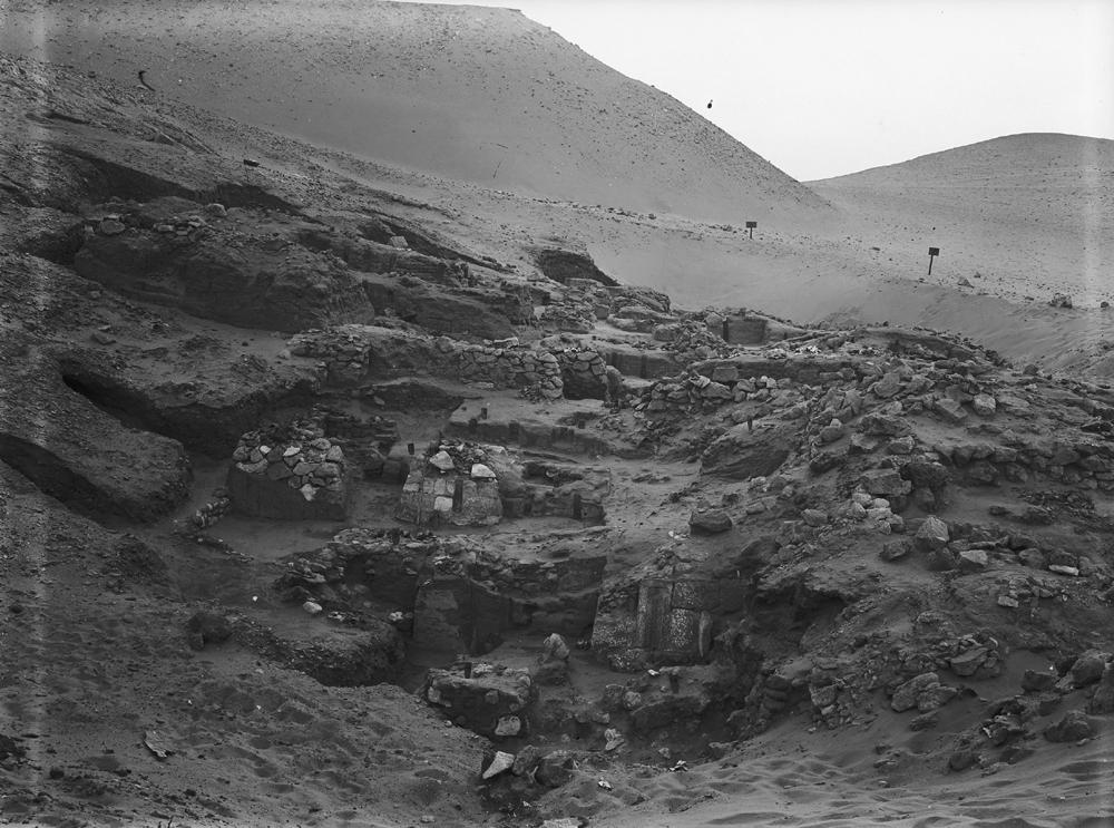 Wadi Cemetery (Reisner; north of W. Cem): Site: Giza; View: GW 1, GW 2, GW 3, GW 4, GW 5, GW 6, GW 7, GW 8, GW 9, GW 10, GW 12, GW 13, GW 14