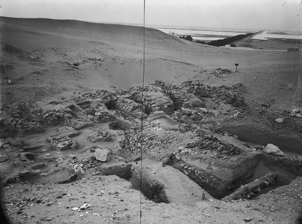 Wadi Cemetery (Reisner; north of W. Cem): Site: Giza; View: GW 36, GW 38, GW 39, GW 40, GW 41, GW 42