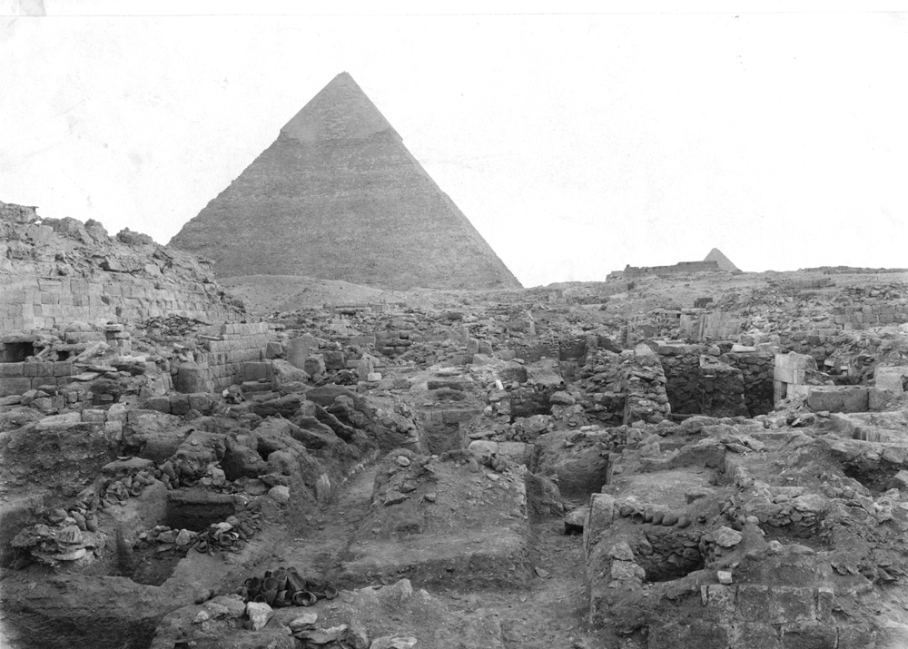 Western Cemetery: Site: Giza; View: G 1060, G 1074, G 1072, G 1061, G 1063