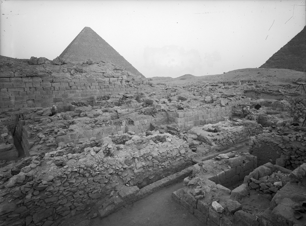 Western Cemetery: Site: Giza; View: G 1019, G 1022, G 1021, G 1025, G 1023, G 1011