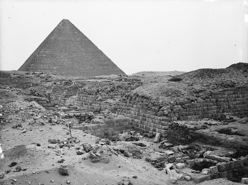 Western Cemetery: Site: Giza; View: G 1209, G 1207, G 1205, G 1203