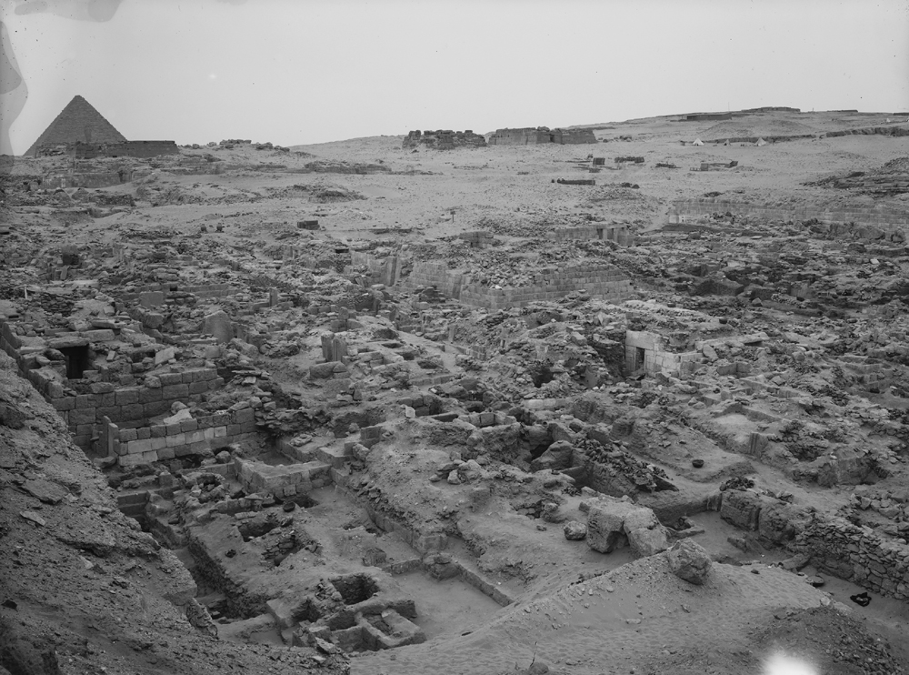 Western Cemetery: Site: Giza; View: G 1057, G 1052, G 1051, G 1055