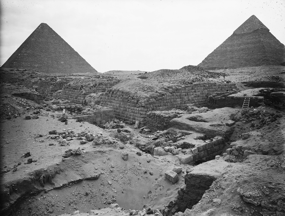 Western Cemetery: Site: Giza; View: G 1203, G 1205, G 1207, G 1209, G 1404, G 1405, G 1407, G 1403