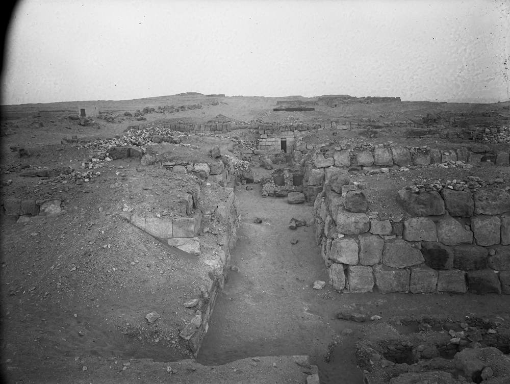 Western Cemetery: Site: Giza; View: G 4710, G 4720, G 4411