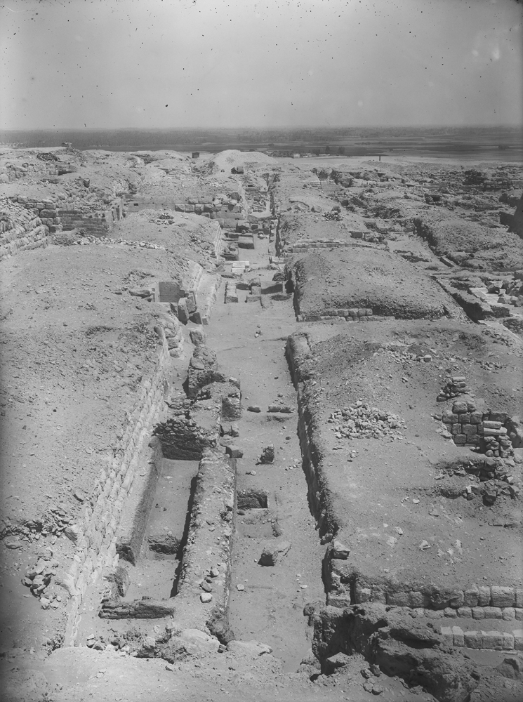 Western Cemetery: Site: Giza; View: G 4910, G 4920, G 4930, G 4940