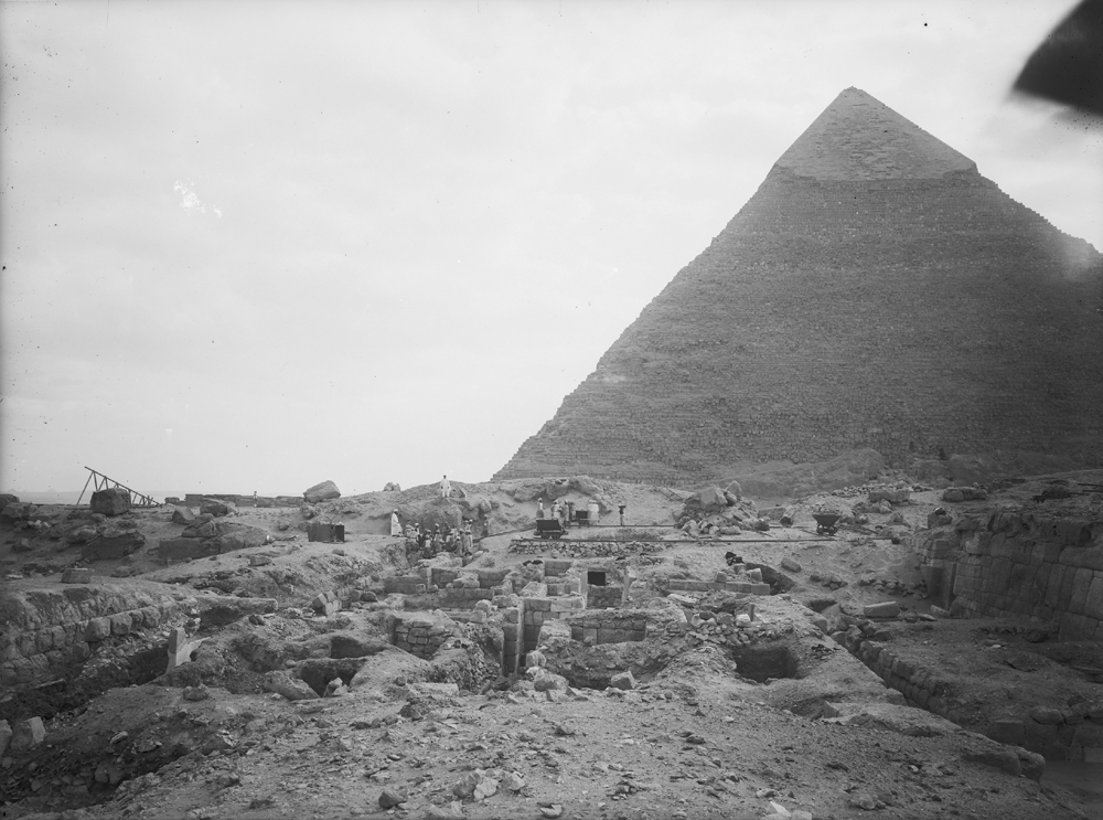 Western Cemetery: Site: Giza; View: G 4810, G 4811+4812, G 4813
