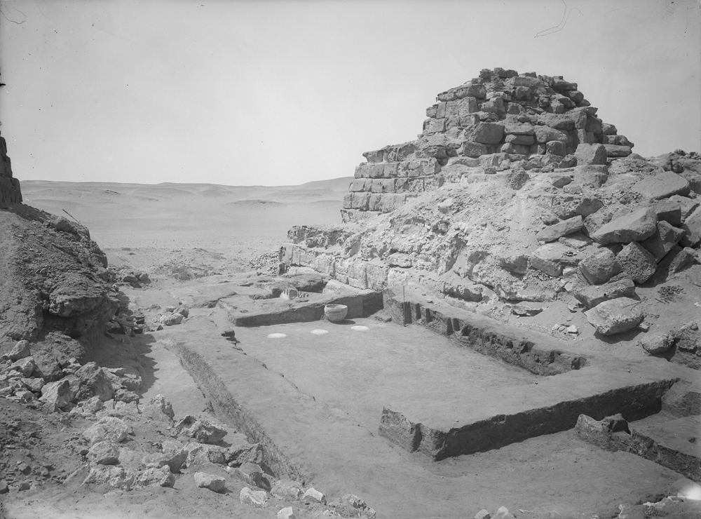 Menkaure Pyramid Complex: Site: Giza; View: G III-c temple