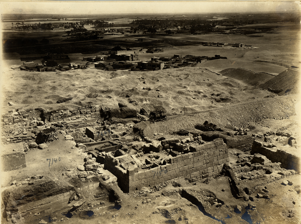 Eastern Cemetery: Site: Giza; View: G 7150, G 7130-7140, G 7142, G 7247
