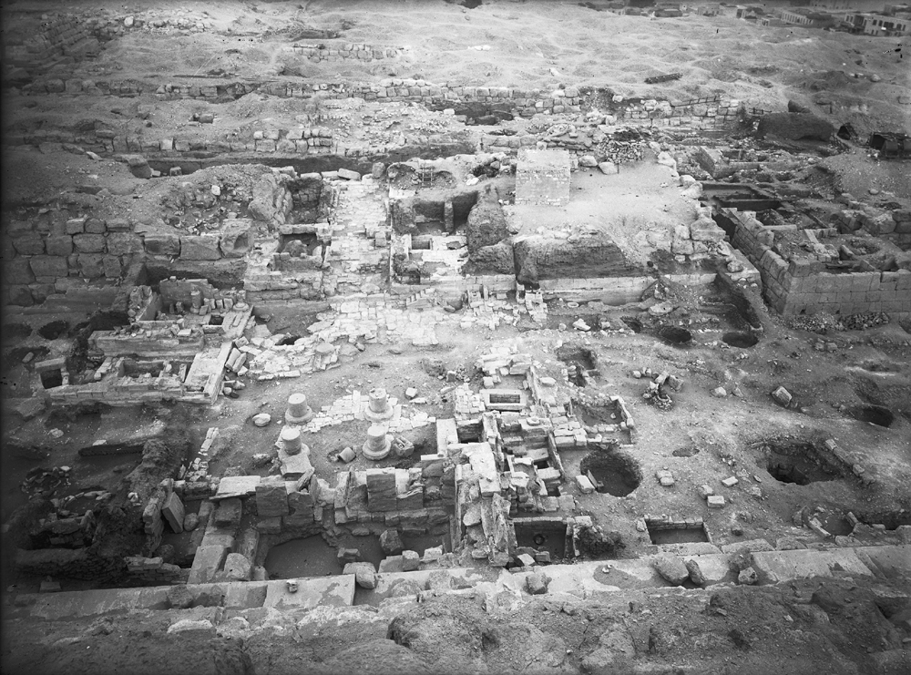 Eastern Cemetery: Site: Giza; View: Isis Temple, street G 7000