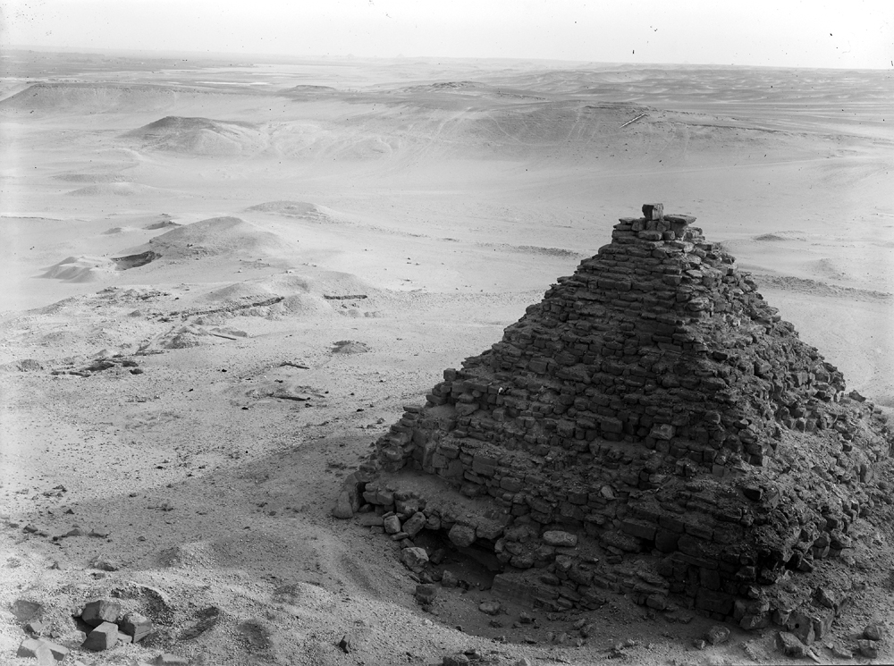 Menkaure Pyramid Complex: Site: Giza; View: G III-a
