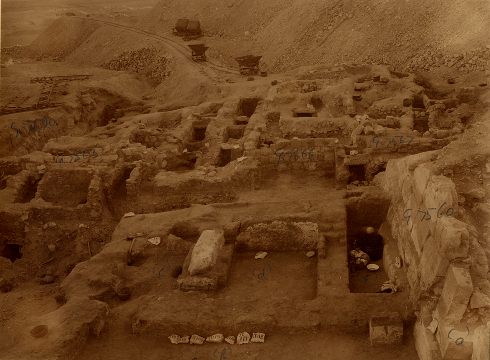 Eastern Cemetery: Site: Giza; View: G 7560, G 7690, G 7563, G 7566, G 7567