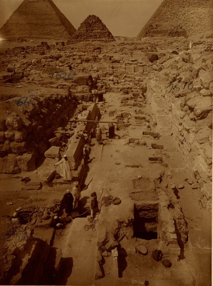 Eastern Cemetery: Site: Giza; View: avenue G 2, G 7750, G 7650, G 7520, G 7751, G 7651, G 7510, G 7430-7440